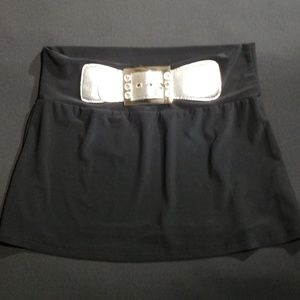 Girls. Black and Silver Skirt